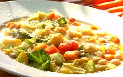 Recette : Soupe minestrone de Nino Marcone