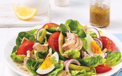 Recette: Salade de thon niçoise